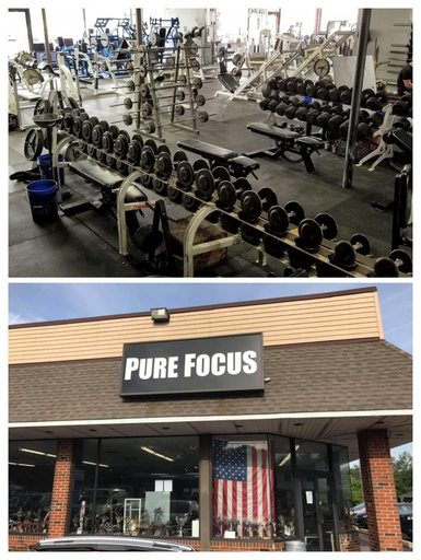 Pure Focus building
